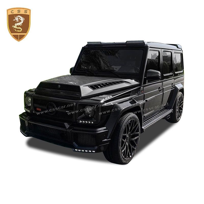 Benz G class W463  brabus G900 roof wing