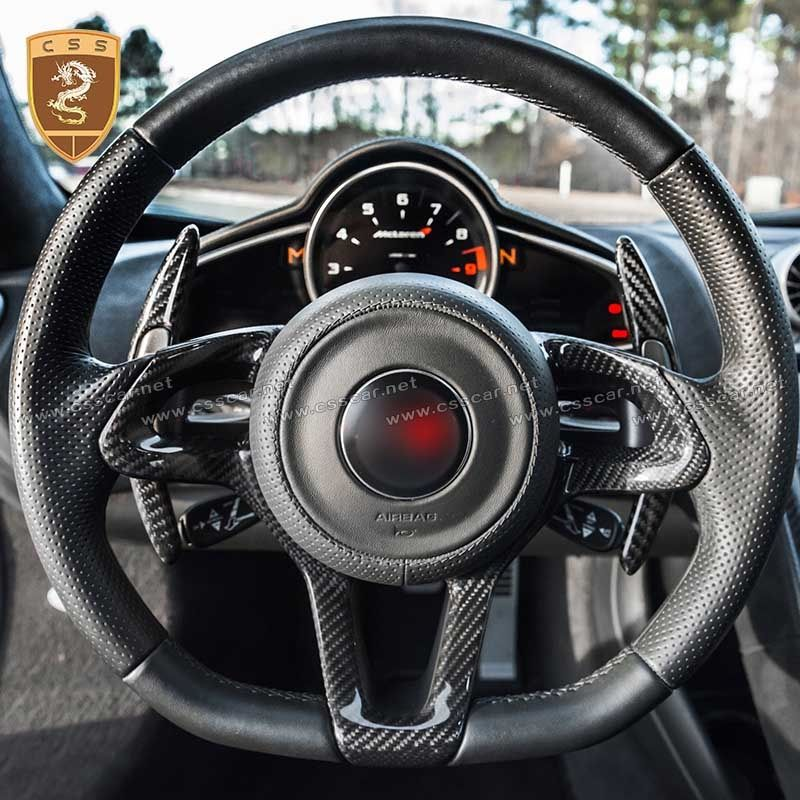 McLaren Mp4 12C 650S Carbon Fiber Paddle Shifter Extensions