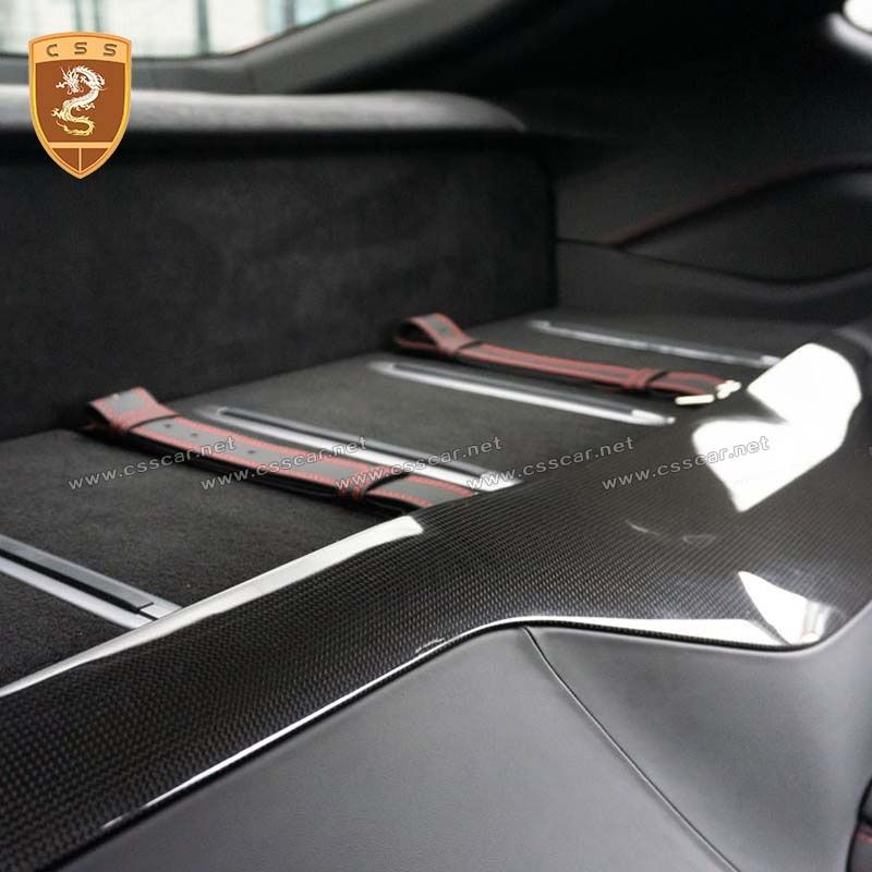 Ferrari 812 carbon fiber OEM luggage guard