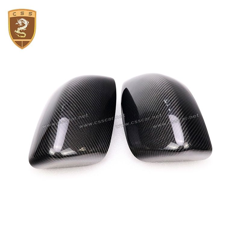 2013-2016 Maserati Quattroporte 2014-2016 Ghibli add on style carbon fiber mirror cover