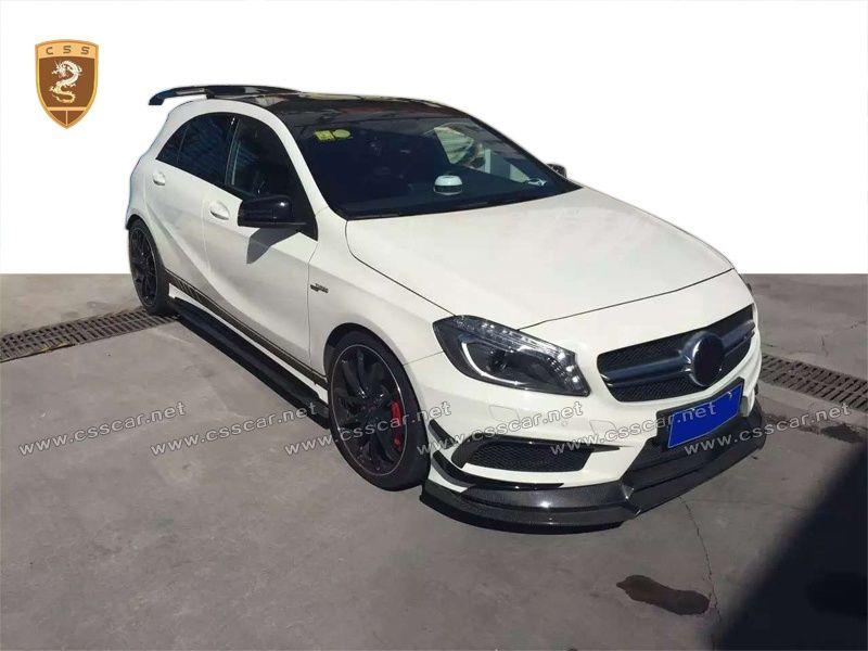 Benz A45 W176 varis CF body kits