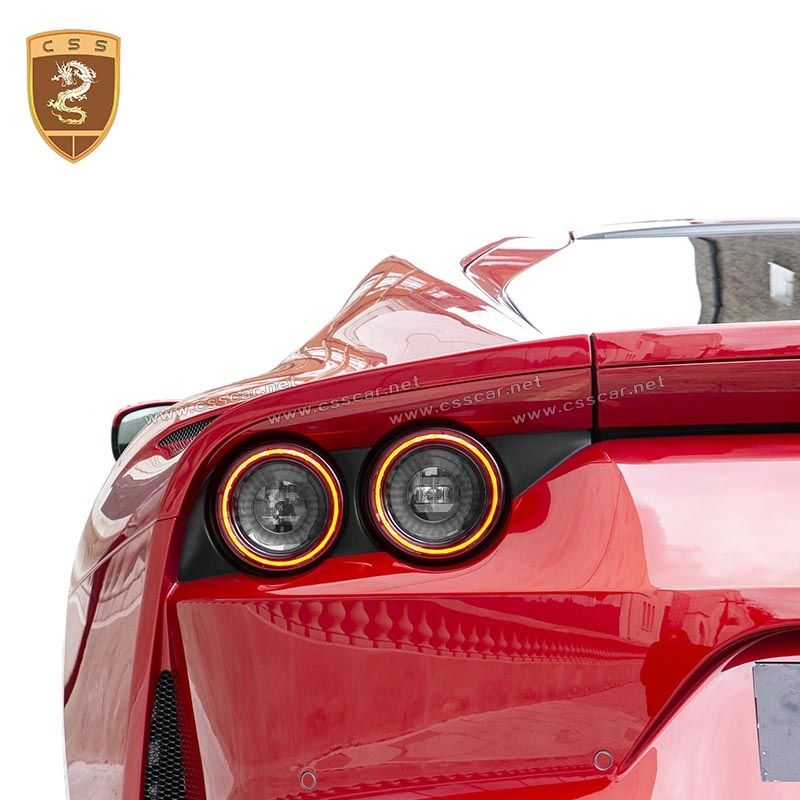 Ferrari 812 carbon fiber OEM rear lights cover