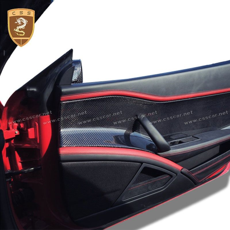 ferrari 458 carbon fiber door interior