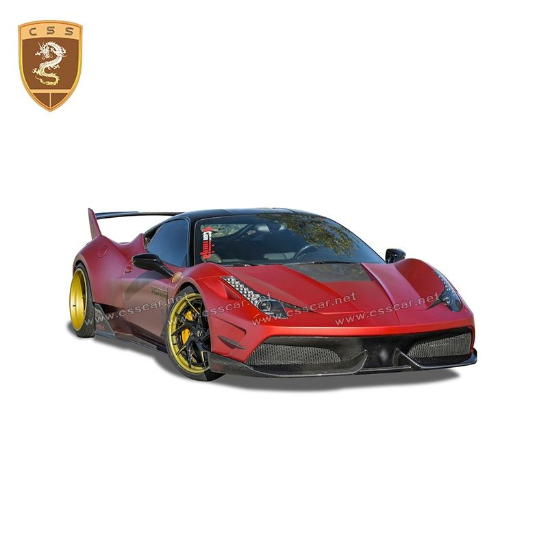 Ferrari 458 misha body kits