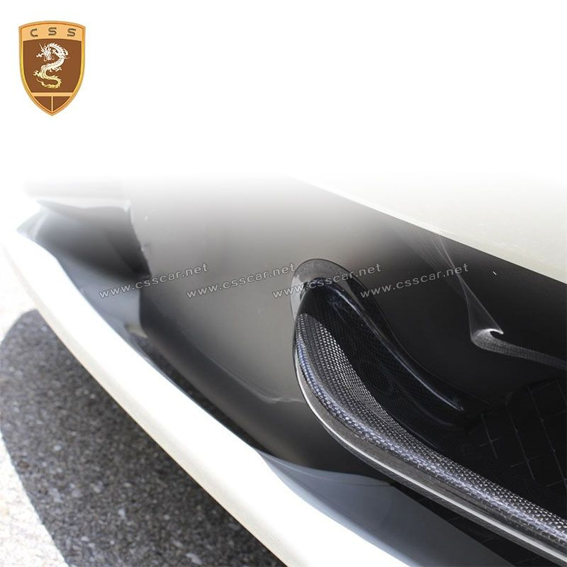 Ferrari 458 carbon fiber front wings
