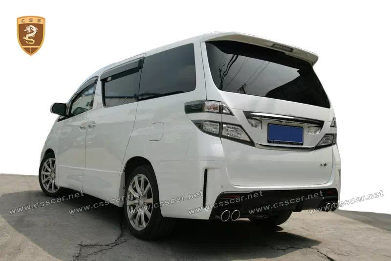 Toyota Alphard GS body kits