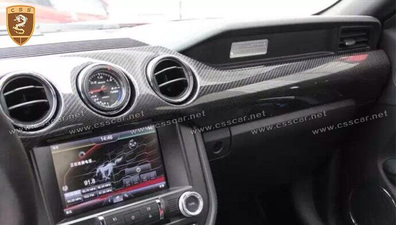Ford Mustang carbon interior