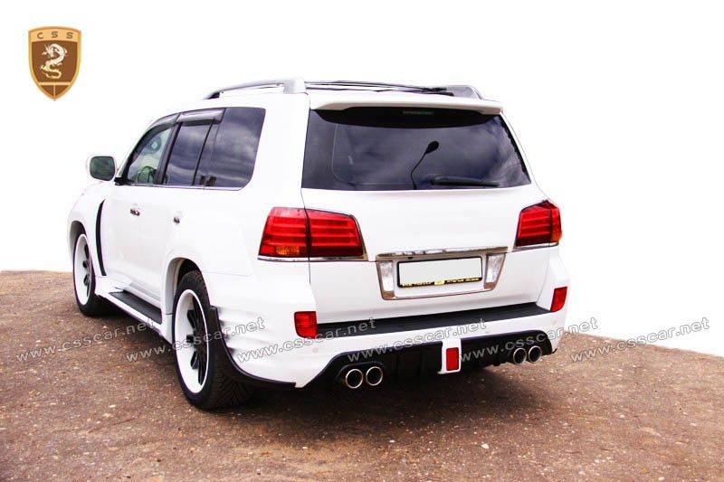Lexus lx570 INVADER FRP wide body kits