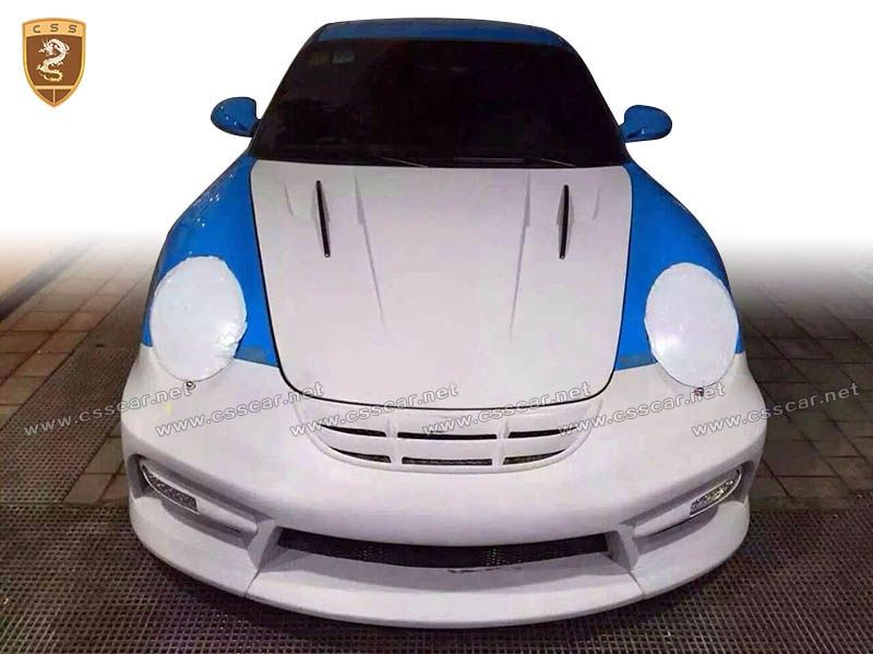 PORSCHE 997 misha body kits