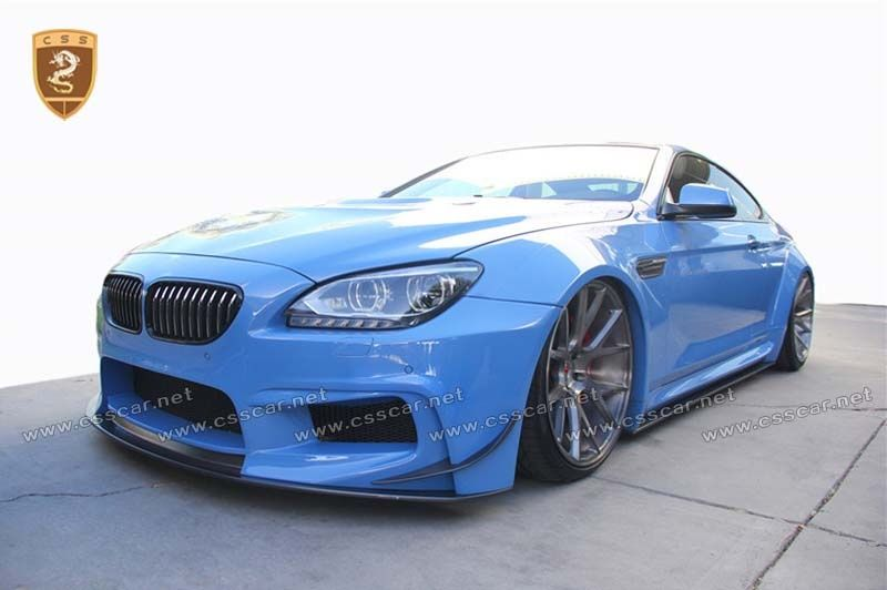 BMW 6 F12 PD CF+FRP body kits