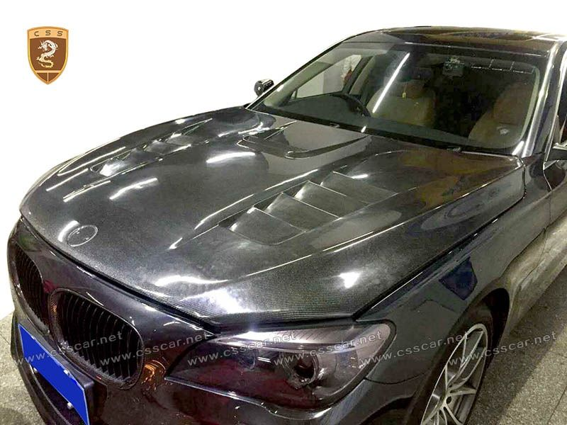 BMW 7 F01 F02 carbon hood body kits