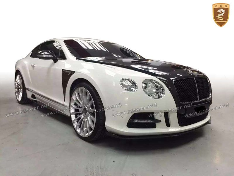 Bentley Continental GT mansory spoiler hood body kits