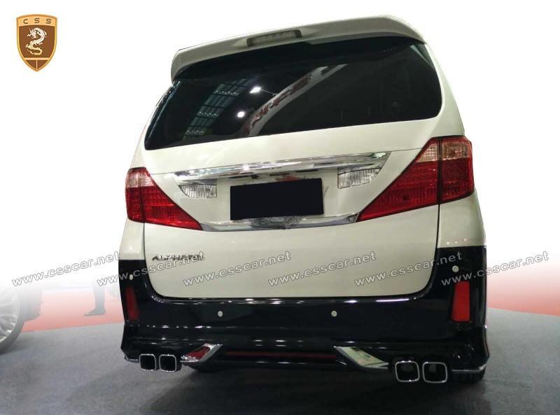 Toyota Alphard old to new body kits