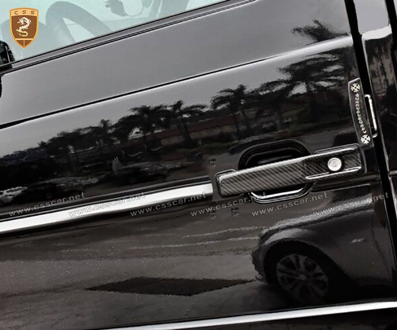 Benz G carbon fiber door handle