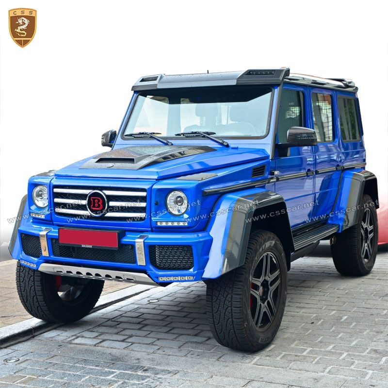 Benz G brabus roof wing and spoiler