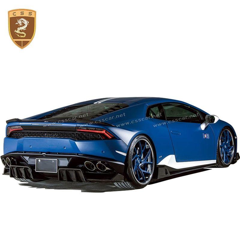 Lamborghini Huracan LP610 ROWEN Rear Lip