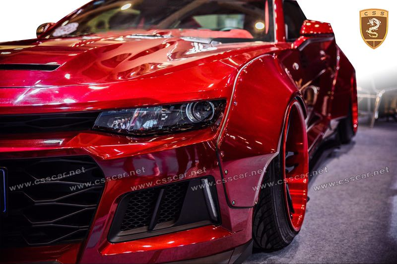 2017 Chevrolet Camaro Cs Wide Body Kits