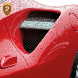 Ferrari 488 side air intake flaps