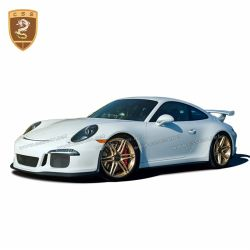 PORSCHE 997 991.1 GT3 body kit (middle output exhaust)