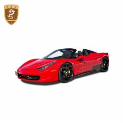 Ferrari 458 OEM carbon fiber side skirts