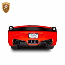 Ferrari 458 Agency Power Carbon Fiber Rear Tail Light Surround