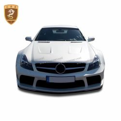 Benz SL black series hood