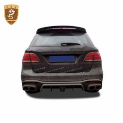 Benz GLE BRABUS carbon fiber rear lip