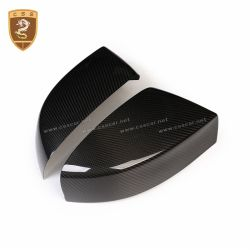 2016-2018 Maserati Quattroporte Ghibli add on style carbon fiber mirror cover
