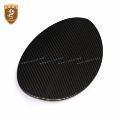 2013 up Maserati Quattroporte carbon fiber fuel tank cover