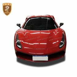 Ferrari 488 carbon fiber mirror cover