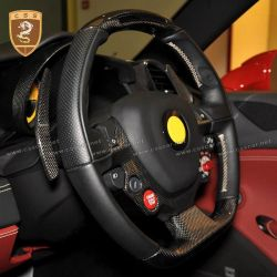 ferrari 458 carbon fiber Shift paddle