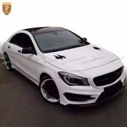 Benz CLA carbon cover