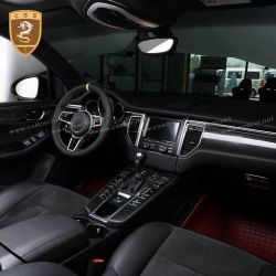 2014 up PORSCHE macan 95B carbon interior
