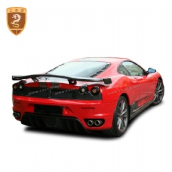 Ferrari F430 OEM carbon fiber rear lip