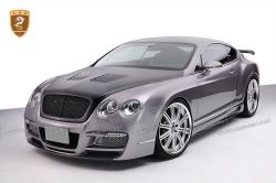 Bentley Continental GT open carbon fiber hood