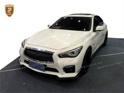 Infiniti Q5 carbon fiber small body kits spoiler